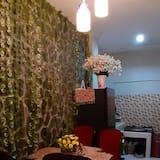 Deluxe Double Room (Private Bathroom) - Living Area
