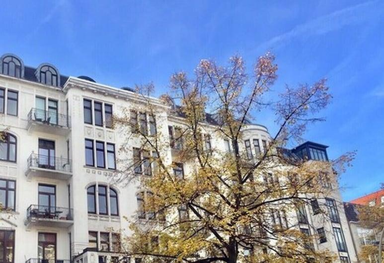 Aparthotel York, Hamborg, Hótelframhlið