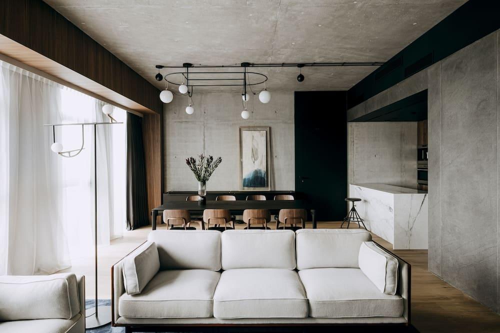 Nobu Suite - Wohnzimmer