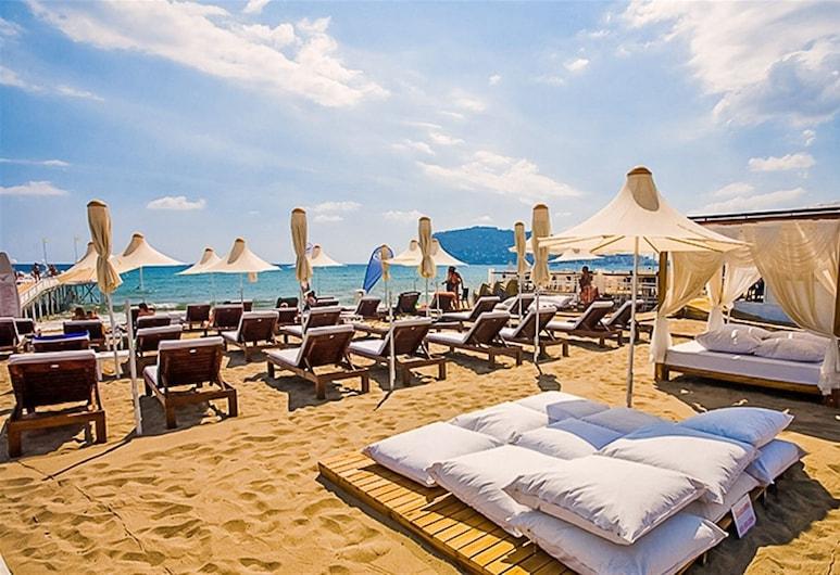 Yaman Life Hotel, Аланья, Пляж