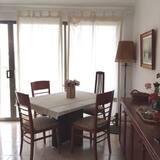 דירה, 3 חדרי שינה, נוף לים - אזור אוכל בחדר