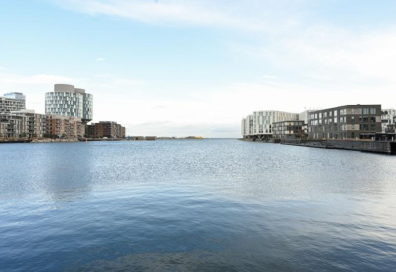 Amazing 2-bedroom Apartment in Copenhagen Nordhavn Close to the Harbour, Copenhague, Piscine
