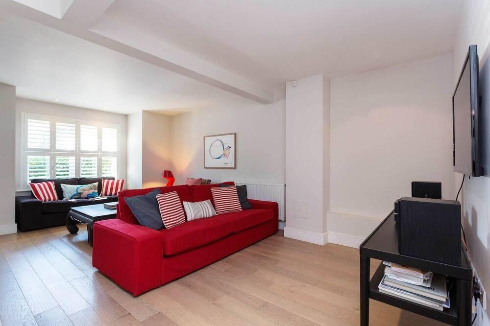 Ferienhaus (4 Bedrooms) - Wohnzimmer