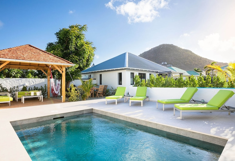 Dream Villa SBH Lili, St. Barthelemy, Piscina