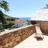Studijas tipa numurs (Studio With Terrace and Sea View) - Terase/iekšējais pagalms