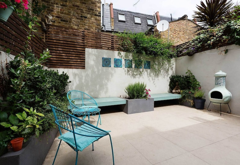 Turquoise Touch, Londra, Terrazza/Patio