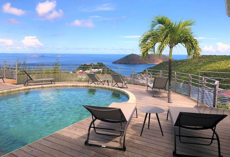 Dream Villa SBH Ocean, St. Barthelemy, Bazén