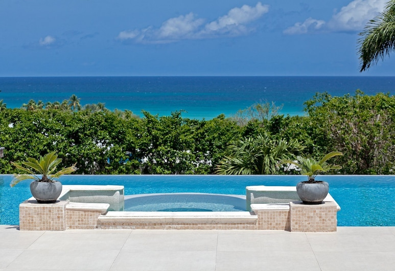 Dream Villa SXM GIS, Les Terres Basses, สระว่ายน้ำ