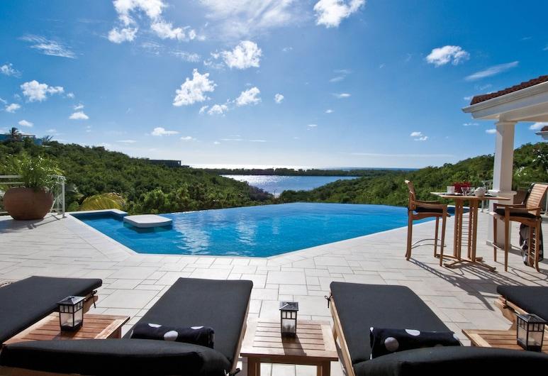 Dream Villa SXM SVP, Les Terres Basses, Piscina