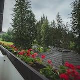 Superior dubbelrum - balkong - Utsikt mot trädgården