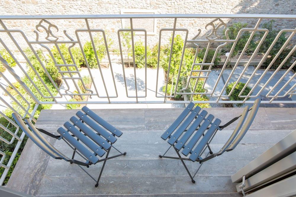 Apartment, 1 Schlafzimmer, Balkon - Balkon