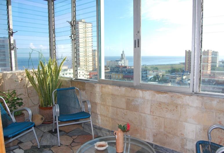 Bellavista, 哈瓦那, 舒適公寓 (#1), 露台