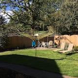 Utsikt mot hage