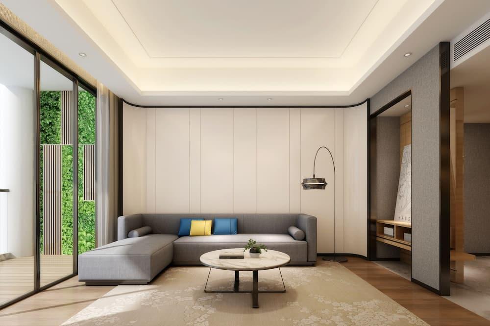 高级家庭套房 - 客廳