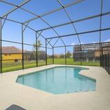 Familienvilla, zum Garten hin - Pool