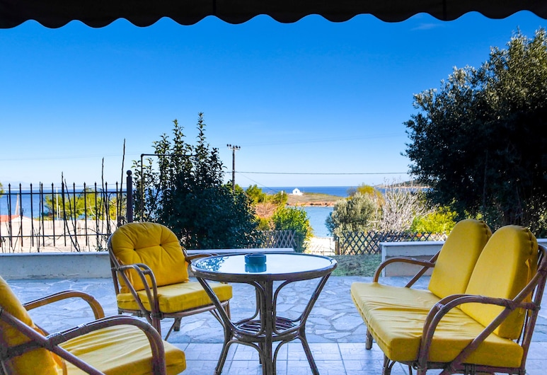 Areos Galaxy Apartments With Beach View, Markopoulo Mesogaias, Comfort Apartment, 3 Bedrooms, Beach View, Balcony