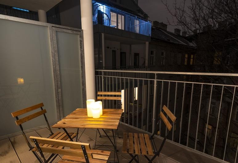 Molino Apartments Vienna, Viena, Bright and Light Apartment/w. terrace near centre, Varanda