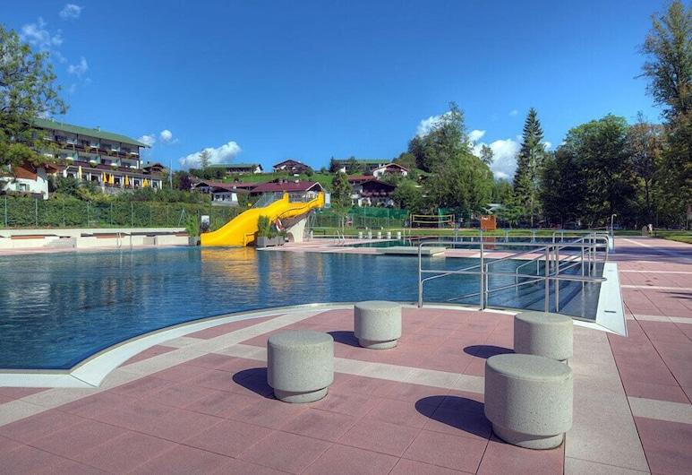 Hotel Brunneck, Schoenau am Koenigssee, Открытый бассейн