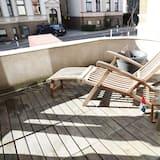 デザイン アパートメント 2 ベッドルーム 禁煙 キッチン - バルコニー