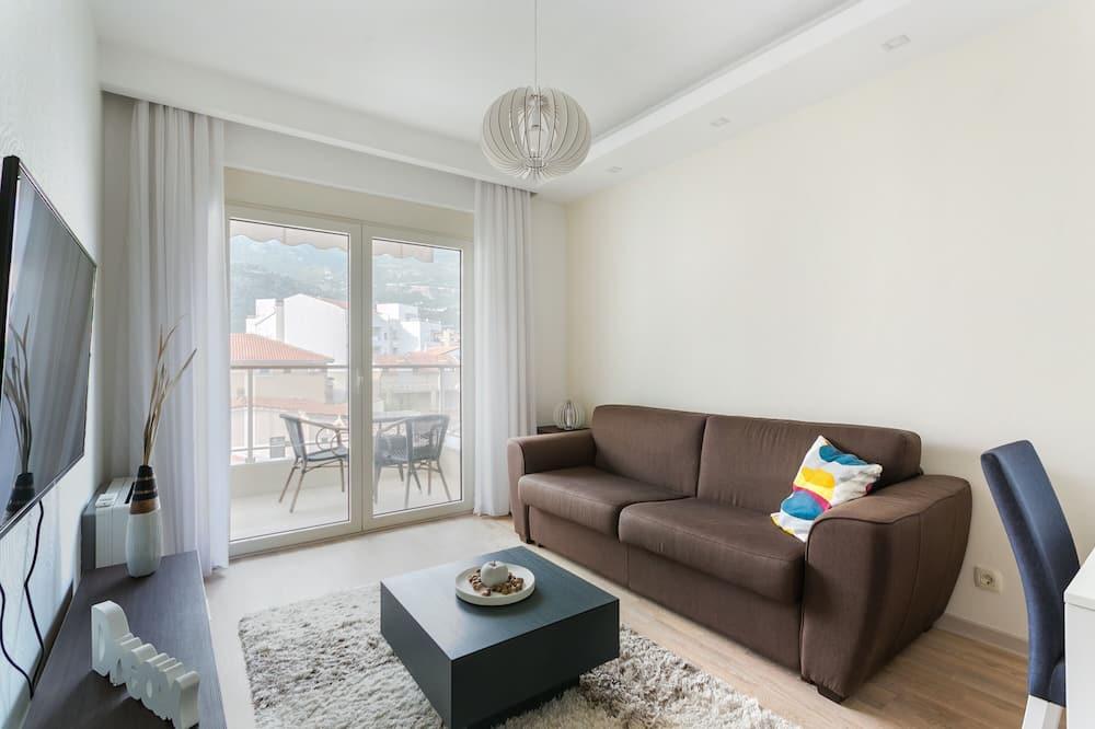 公寓, 陽台 - 客廳