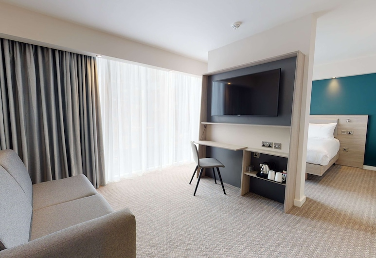 Hampton by Hilton Manchester Northern Quarter, Manchester, Room, 1 Queen Bed with Sofa bed, Guest Room