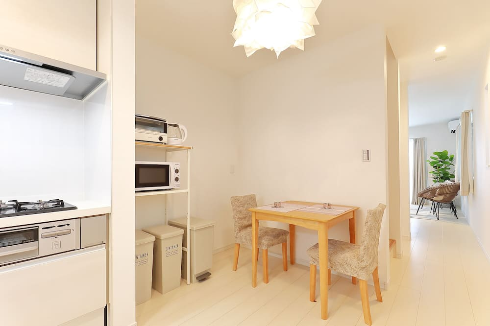 3 Bedroom House - In-Room Dining
