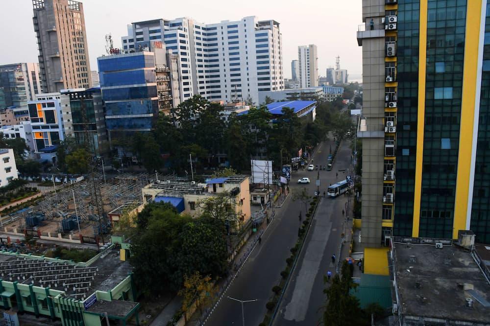 Paaugstināta komforta numurs - Skats uz pilsētu