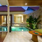 Villa, viena guļamistaba, privāts baseins - Privātais baseins