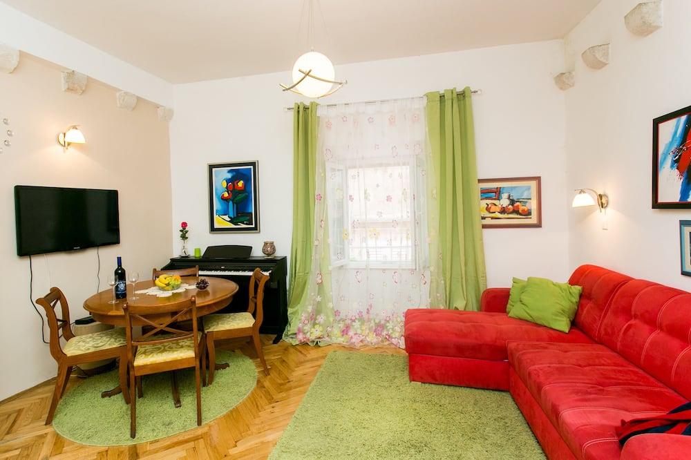 アパートメント (Duplex One-Bedroom Apartment) - 室内のダイニング