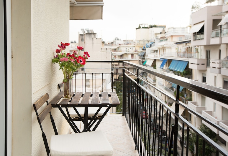 Acropolis Now, Athén, apartman, 2 hálószobával, Erkély