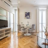 Design apartman - Nappali rész