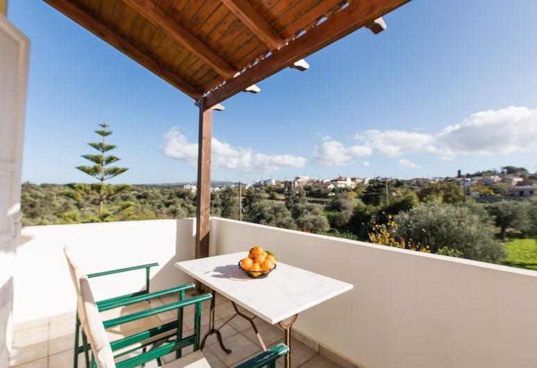 Artos Apartments , Rethymno, Apartment, 1 Bedroom (with Mountain View and Sea View), Teres/Laman Dalam