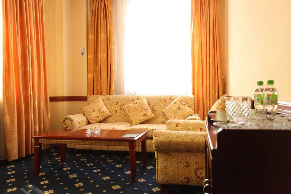 Luxury Double Room - Living Room