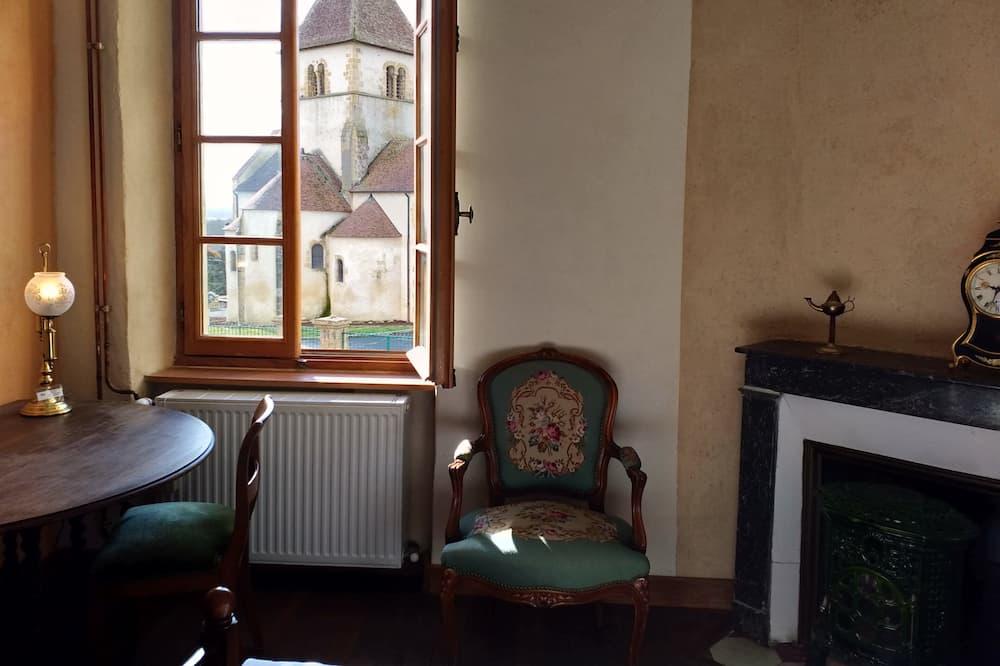 Сімейний номер-люкс, 2 спальні, для некурців, з видом на місто - З видом на місто