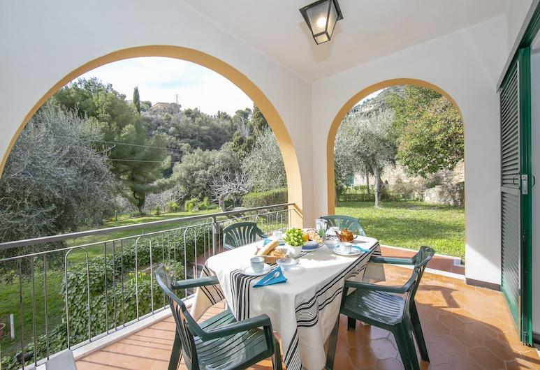 Villino A1, Alassio, Appartement Familial, 1 lit double et 1 canapé-lit, côté jardin (Villino A1), Terrasse/Patio