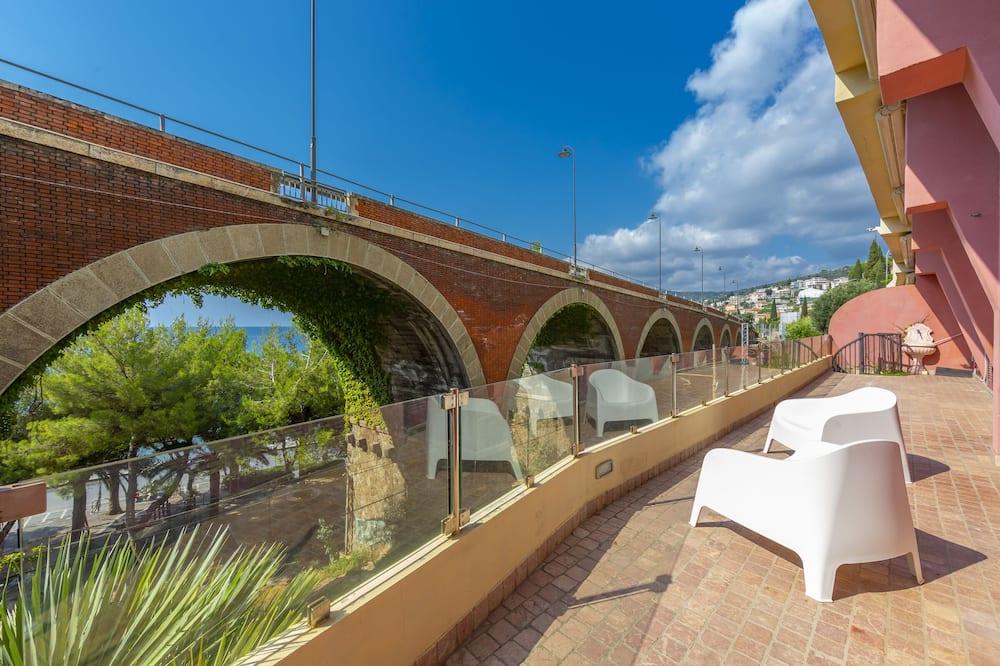 Appartamento familiare, Letti multipli, fronte mare (Sunset Frame 1) - Balcone