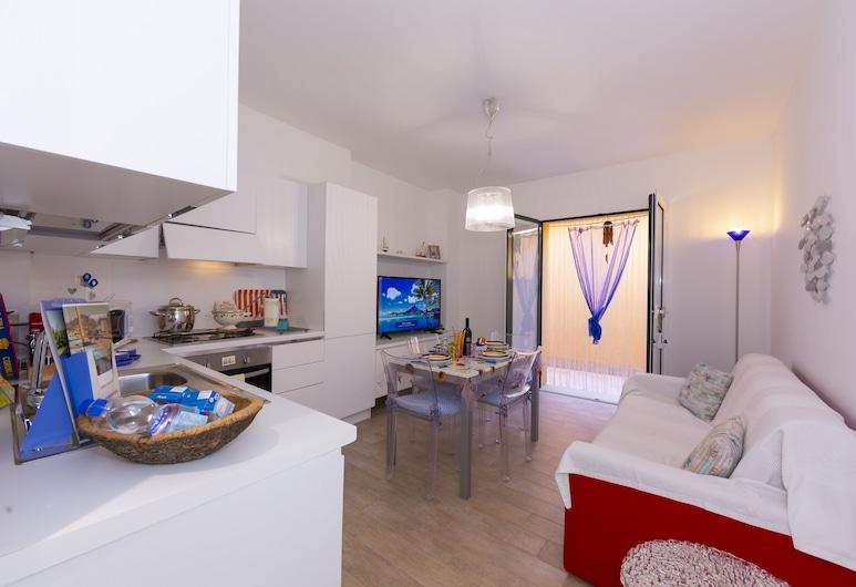 Casa Damare, Alassio, Căn hộ dành cho gia đình, Nhiều giường, 2 phòng tắm, Đối diện biển (Casa Damare), Phòng khách