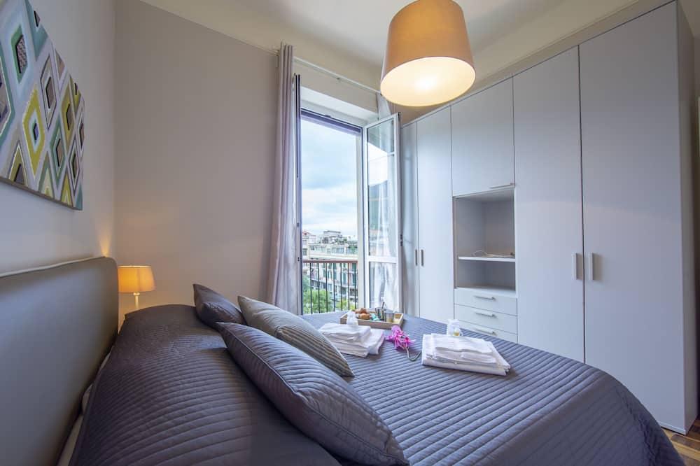 Apartament rodzinny, Wiele łóżek, 2 łazienki, widok na morze (Park View) - Pokój