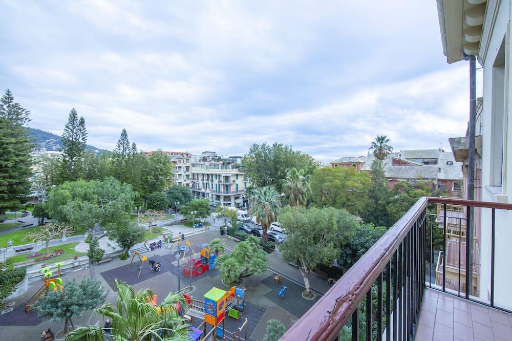 Apartament rodzinny, Wiele łóżek, 2 łazienki, widok na morze (Park View) - Balkon