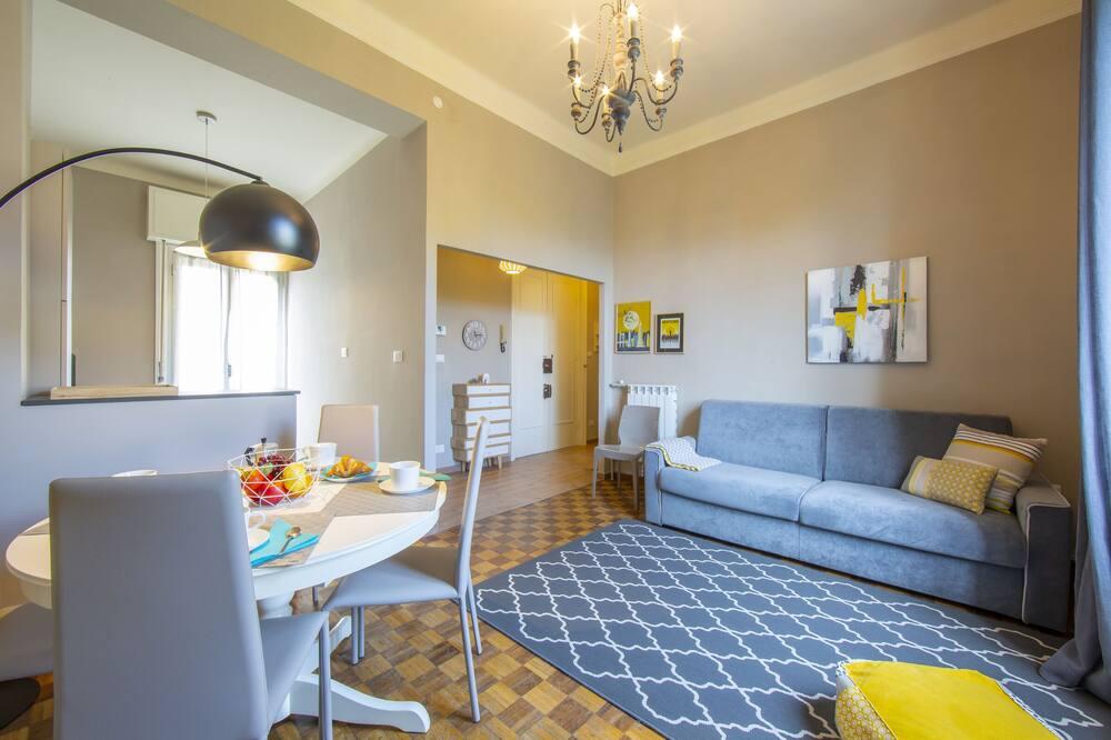 Apartament rodzinny, Wiele łóżek, 2 łazienki, widok na morze (Park View) - Powierzchnia mieszkalna