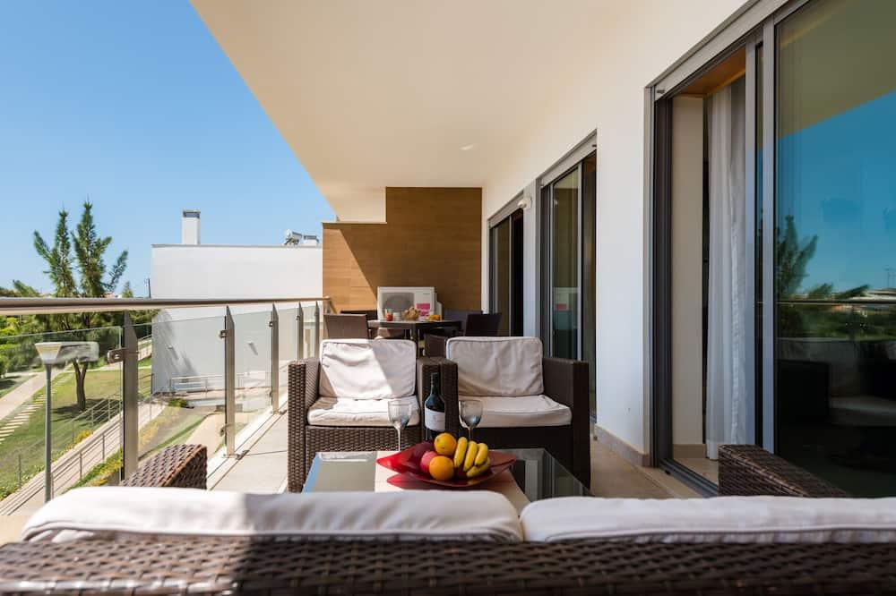 公寓, 2 間臥室, 可使用泳池, 泳池景觀 - 陽台