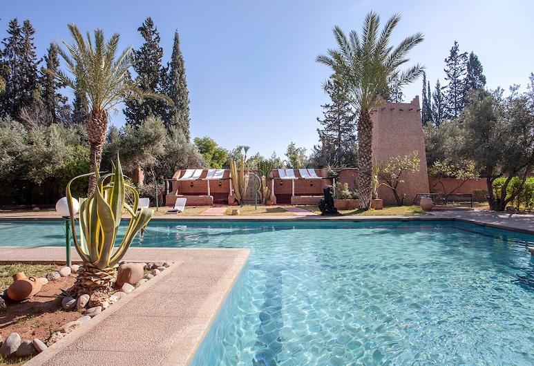 Villa Mziana, Marrakech, Kolam