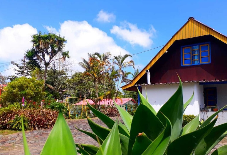 Hostal Campestre El Santuario, Filandia, Trädgård
