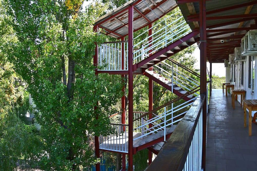 Liukso klasės trivietis kambarys - Balkonas