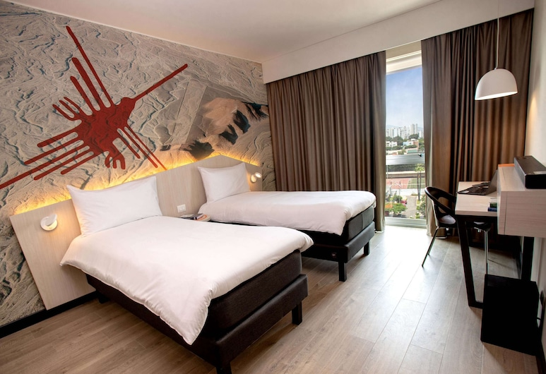 ibis Styles Lima Benavides Miraflores Hotel, Lima, Superior Room, 2 Twin Beds (Plug and Play), Guest Room