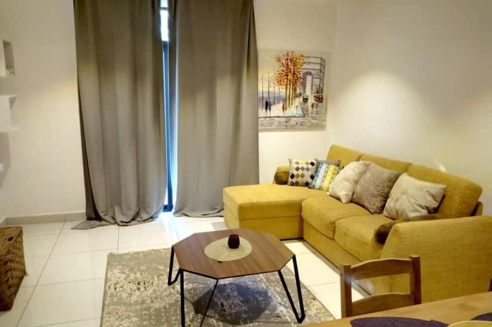 Luxus apartman - Nappali