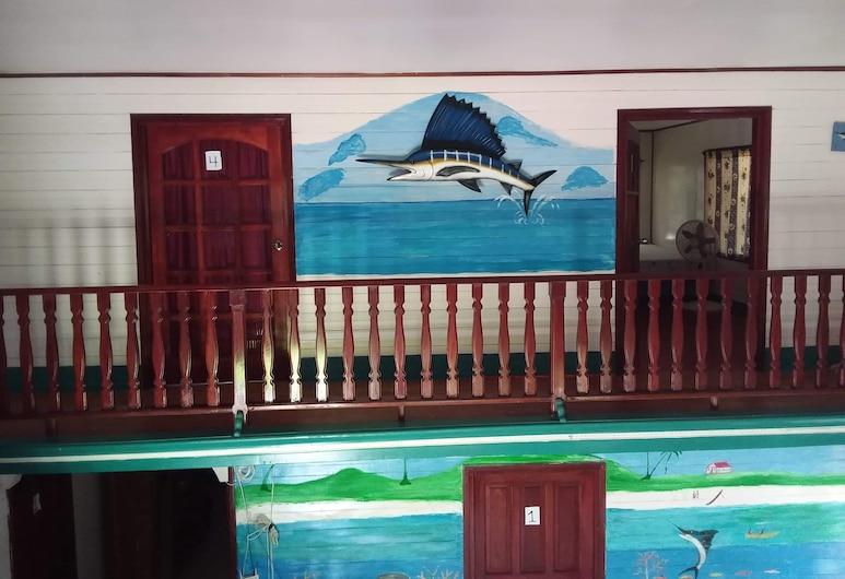 Jackson Guest House, Islas del Maíz, Double Room, Hallway