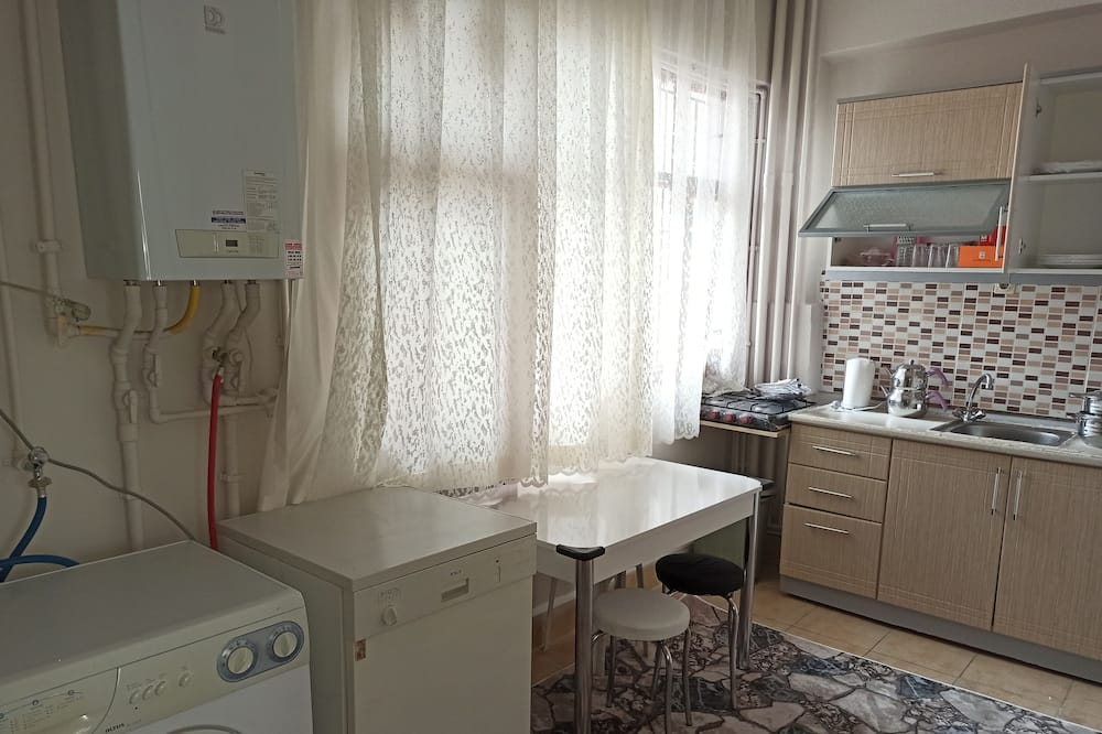 Luxury Shared Dormitory, Mixed Dorm, City View - Shared kitchen