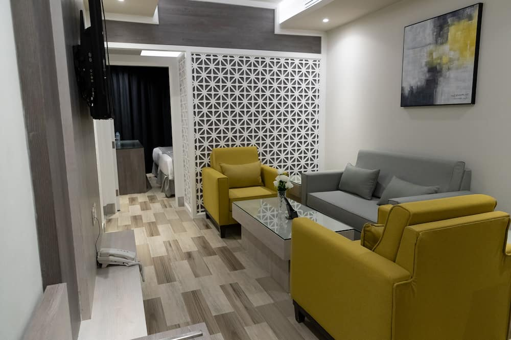 Apartmán typu Junior, 1 spálňa - Obývačka