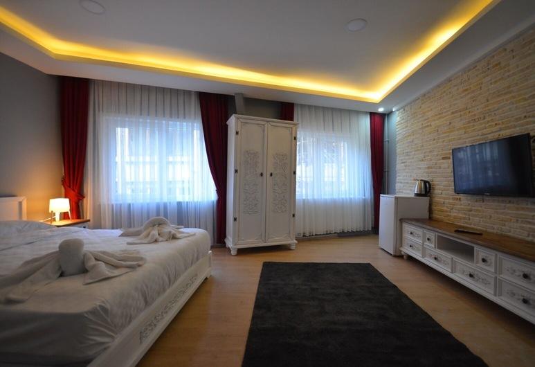 GV Suites Galata, Istanbul, Studiové apartmá typu Deluxe, Pokoj